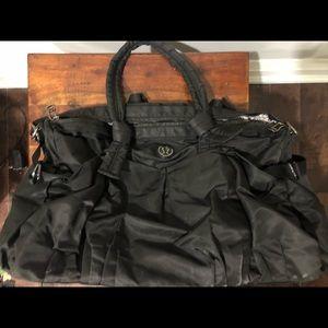 Lululemon black duffel bag